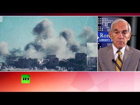 Рон Пол: США рассчитывают получить выгоду от деятельности боевиков в Сирии