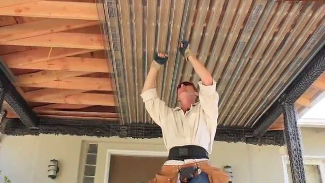 Rib Lath Why Use Rib Lath Plaster Lath Tips Youtube