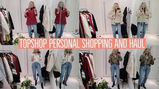 TOPSHOP PERSONAL SHOPPING TRY ON AND HAUL