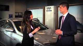 The new Hyundai Sonata with Kari Hawker