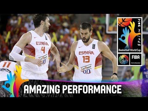 Marc Gasol - Amazing Performance - 2014 FIBA Basketball World Cup