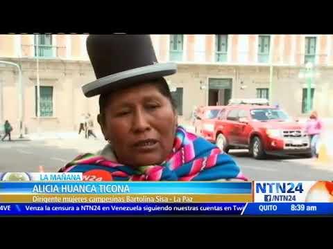 VIDEO: ORGANIZACIONES CAMPESINAS DE LA PAZ, BOLIVIA, ASEGURAN QUE VOTARÁN NULO EN ELECCIONES JUDICIALES