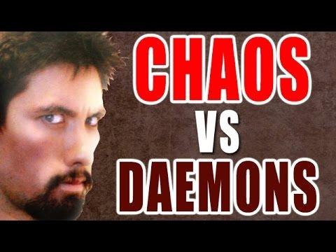 Chaos Deamons vs Chaos Space Marines Warhammer 40k Battle Report - Banter Batrep Ep 100