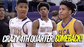 CBC Makes An EPIC COMEBACK Against St. Louis Christian feat. Caleb Love and Rob Martin