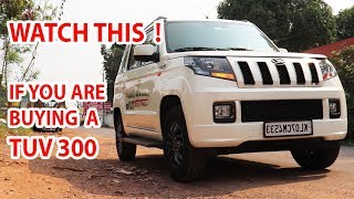 MAHINDRA TUV300 DETAILED in-depth  REVIEW / COMPACT SUV WITH 7 SEATS