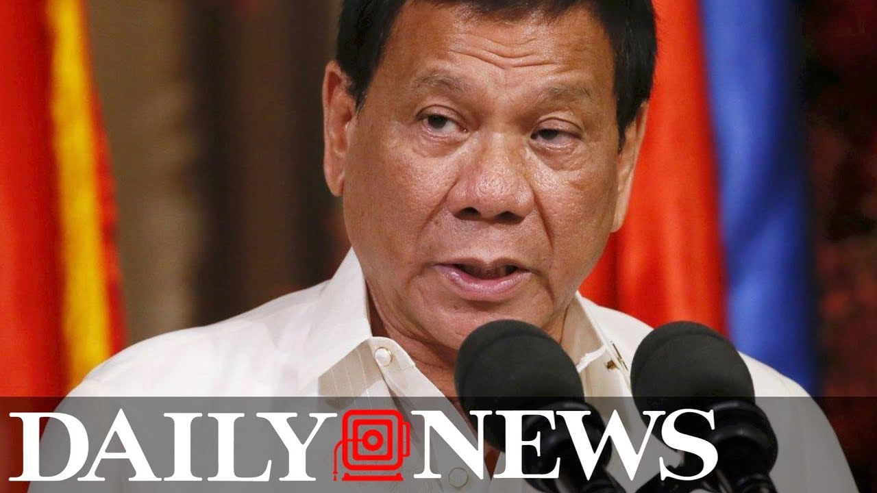 President of Philippines threatens to kill own son if he's found guilty of drug trafficking