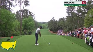 Francesco Molinari's Third Round in Three Minutes