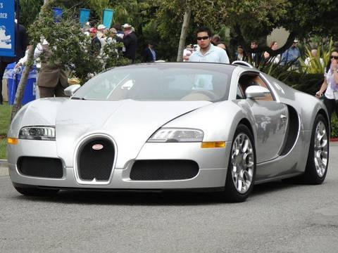 Pebble Beach Concours d'Elegance 2009 - Supercars On Road