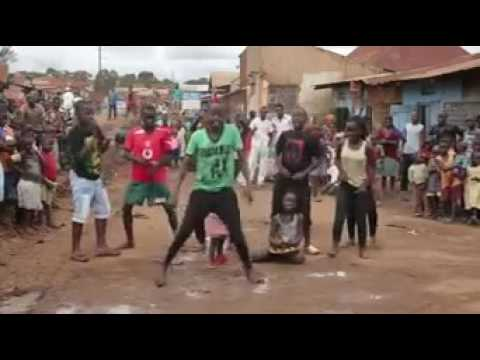 size8 Afadhali yesu dance choreography by ghetto kids.