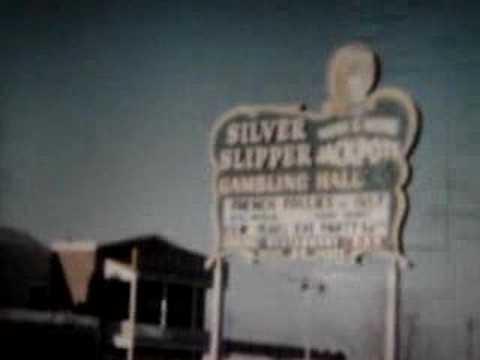 LAS VEGAS 1956 - DOWNTOWN, STRIP, SAHARA HOTEL