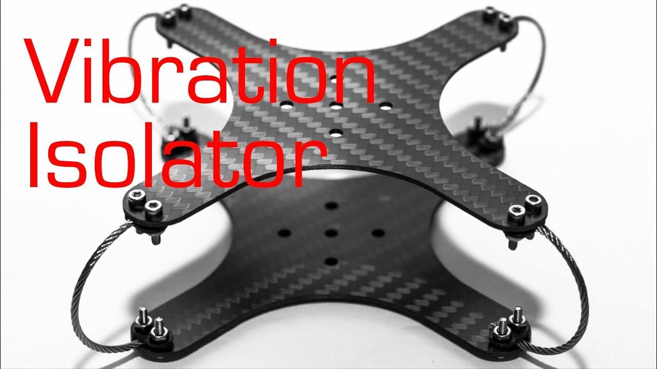 Camera Vibration Damper : Pov camera vibration isolator rctestflight youtube