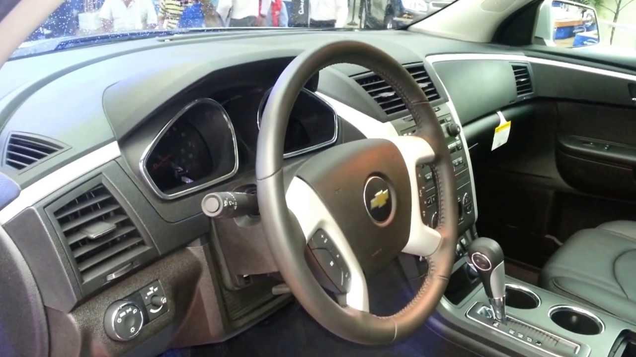 Chevy Traverse 2012 Price >> interior Chevrolet Traverse LT 2014 Precio Caracteristicas versión para Colombia FULL HD - YouTube