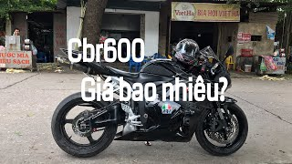 How much for cbr600?