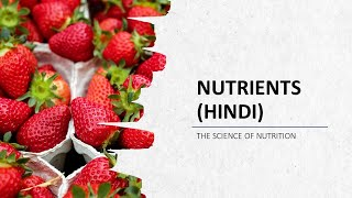 Nutrients Introduction – 6 Major Classes of Nutrients and their Functions in Hindi
