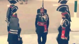 PAKISTAN and india Ganda Singh border parade 14 August 2016