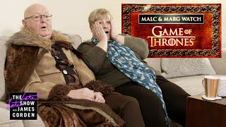 James Corden's Parents Are 'Game of Thrones' First Timers