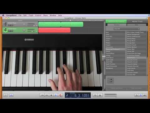 Compose Your Own Piano Score In Garageband