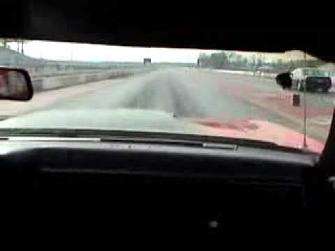 Quarter mile in car cam 1972 Dodge Charger Video