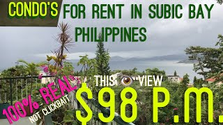 Condo's for Rent from $98 p.m. Subic Bay Philippines