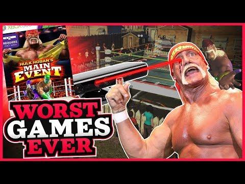 Worst Games Ever - Hulk Hogan's Main Event