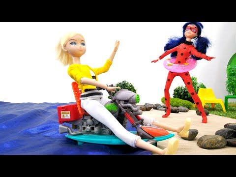 Леди Баг, Супер-Кот и Хлоя — Приключения на пляже