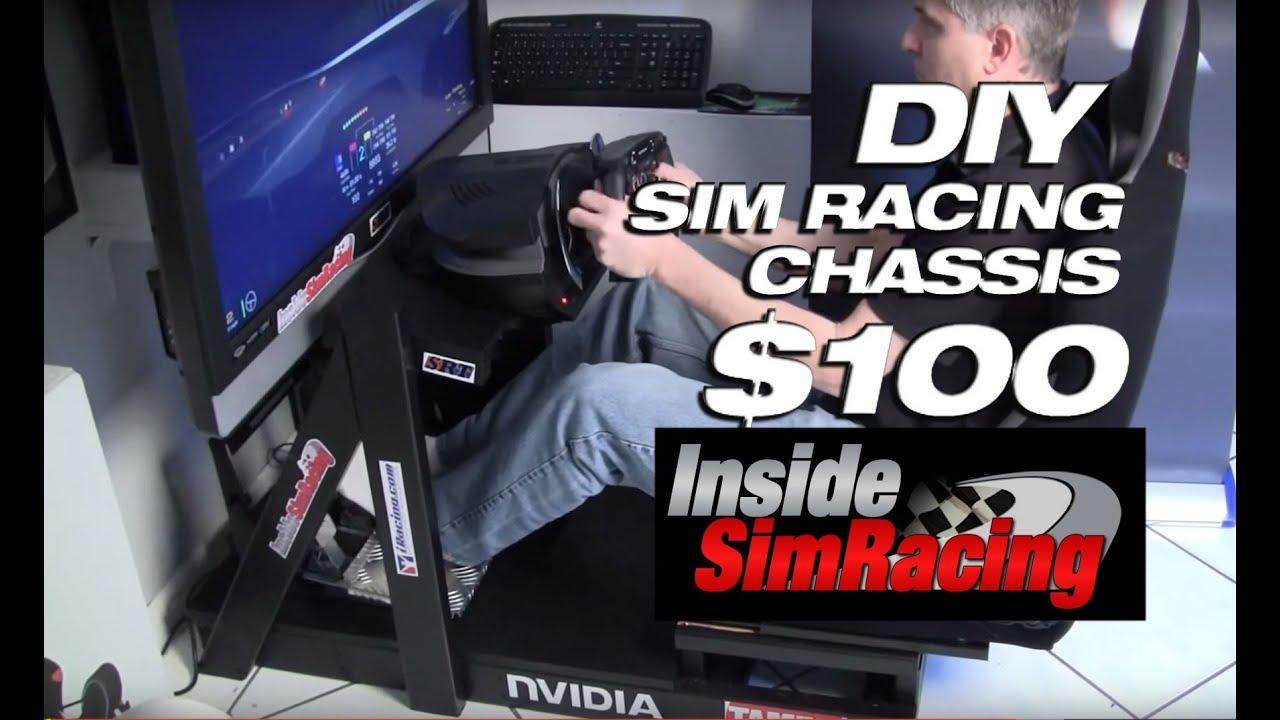 Diy Sim Racing Rig For Under 100 By Inside Sim Racing