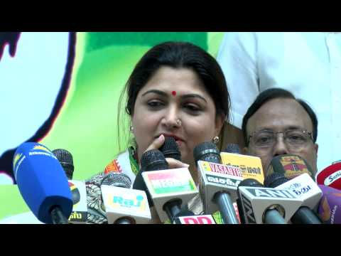 If There Is No Congress, There Is No P.Chidambaram - Congress Spokesperson Kushboo
