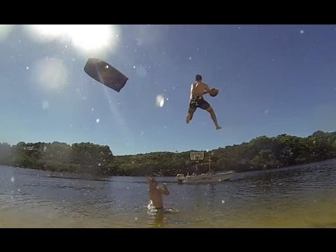 EPIC Slip and Slide Alley Oop - How Ridiculous
