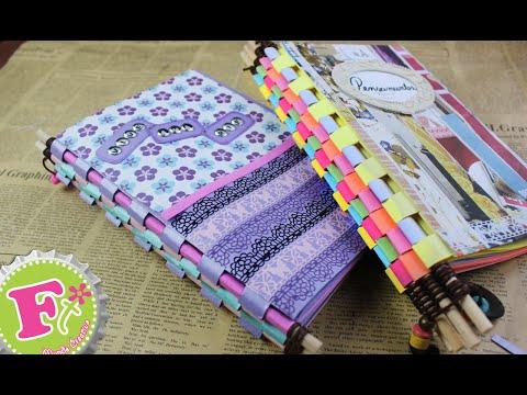 Como hacer una Libreta cuaderno MUY ORIGINAL