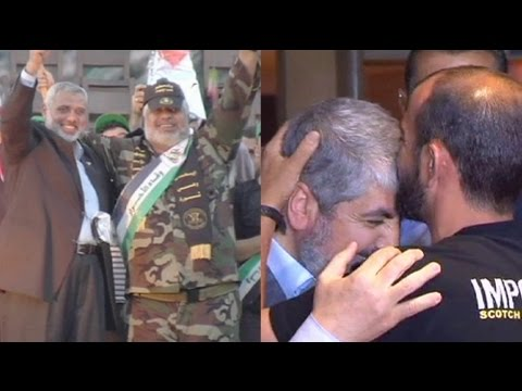 پیروزی، ارمغان زندانیان فلسطینی آزاد شده برای حماس