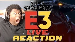 Super Smash Bros. Ultimate Ridley Reveal Trailer Live Reaction | Nintendo E3 2018 Live Reaction