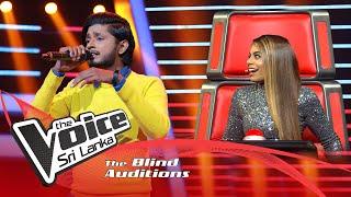 Hasindu Sumathipala - Naadagam Geeya Blind Auditions | The Voice Sri Lanka