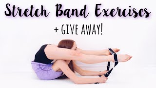 How to Improve Flexibility using a Stretch Band + Give Away!
