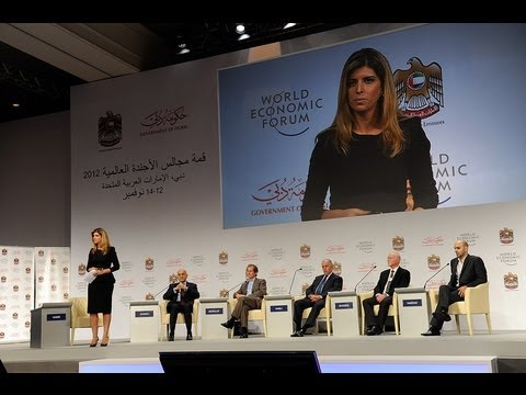 Dubai 2012 - (English) Global Growth Challenges: Regional Responses (Al Arabiya TV Debate)