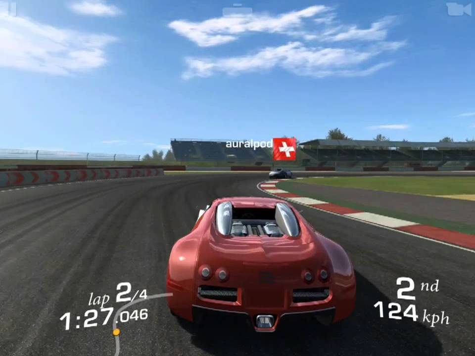 ios real racing 3 bugatti veyron 16 4 cup silverstone grand prix youtube. Black Bedroom Furniture Sets. Home Design Ideas