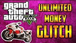 """NEW"" GTA 5 ONLINE: BIKE SELLING GLITCH AFTER PATCH 1.04 - UNLIMITED MONEY GLITCH - 2M+/HR (METHOD)"