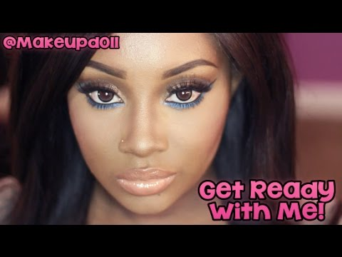 Get Ready with Me | Neutral with a Color Pop! (Makeup)