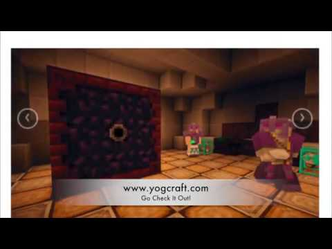 New http  www.yogcraft.com - YogCraft Server Website Overhaul - IP play.yogcraft.com528