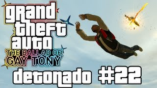 Stunts do GTA 4 ao vivo com Mano MJ - GTA 4 TBoGT / Walkthrough (Xbox 360/PS3/PC) - Parte 22
