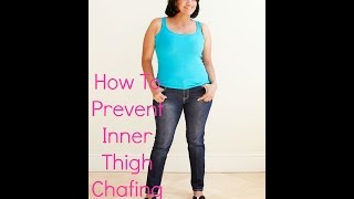 How to Prevent Inner Thigh Chafing Cheaply (Pictures and Explanation)