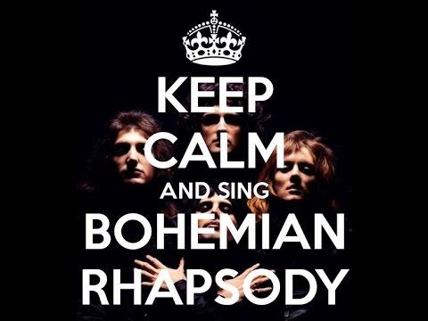 Bohemian rhapsody text