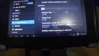 Conectando um HD externo - Tablet Genesis GT 7200