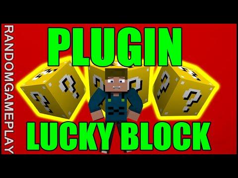 [TUTORIAL] Plugin Lucky Block - Bloco Surpresa