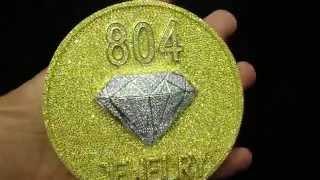 Yellow Diamond Canary Gold 804 Jewelry Pendant 45 Carat