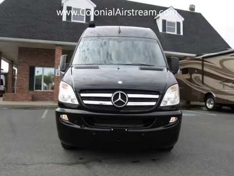 2013 Airstream Interstate EXT 3500 Mercedes-Benz Sprinter Diesel Motorhome Conversion Van