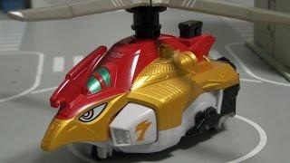 đồ chơi Siêu Nhân Cơ Động  Power Rangers Go Ongers Toys 파워레인저 엔진포스 트리콥터 장난감