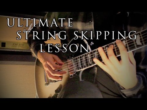 Lesson Guitar - Scales And String Skipping Exercices