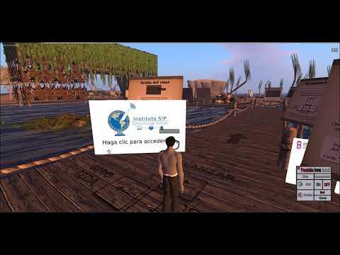 Inducción de acceso a la plataforma 3D del Instituto SIP de aprendizaje virtual