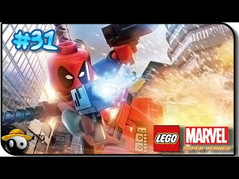 ► Deadpool! Vivo e sem piscina ☯ LEGO Marvel Super Heroes #31