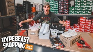 Hypebeast Shopping for $3,000 in Sneakers!